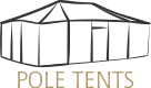deluxe pole tent logo