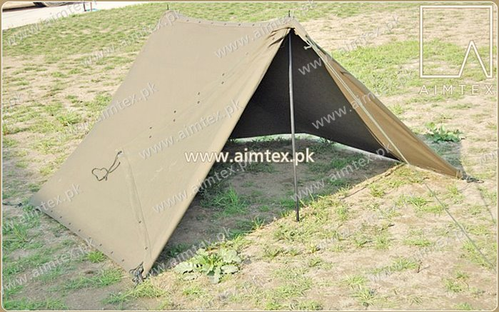 Half Shelter Tent & Half Shelter Tent | AIMTEX|Relief Tents| Glamping Tents| Army ...