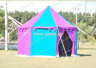 Round Medieval Tent