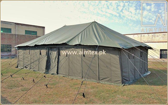 Military Ridge Pole Tent