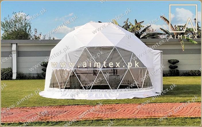geodesic tent