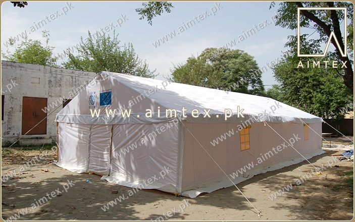 IOM Multipurpose Frame Tent | AIMTEX|Relief Tents| Glamping